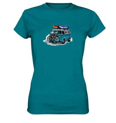 Vanlife - Bike & Kayak - Ladies Premium Shirt