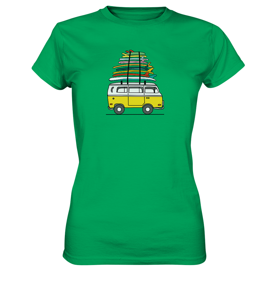 Vanlife & Surf - Ladies Premium Shirt