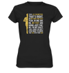 Yes,  42,2km - on my own two feet - Ladies Premium Shirt