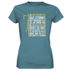 Ja, 500 km - Ladies Premium Shirt