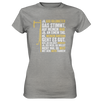Ja, 600 km - Ladies Premium Shirt