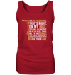 Yes, 100 km - Ladies Tank Top