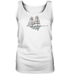 Sailing Whale - Ladies Tank Top