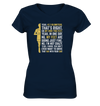Yes,  42,2km - on my own two feet - Ladies V-Neck Shirt