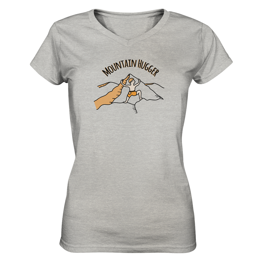 Mountain Hugger - Ladies V-Neck Shirt