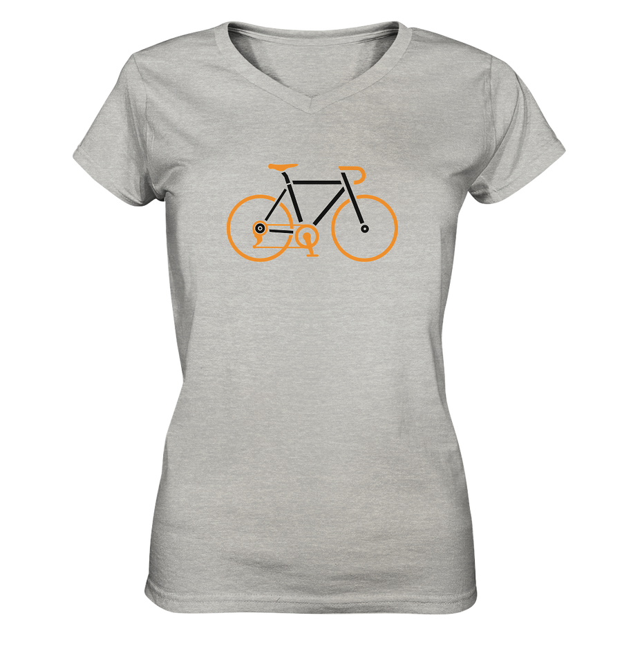 Rennrad - Ladies V-Neck Shirt