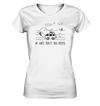 Do What Makes You Happy - Surfen - Ladies V-Neck Shirt