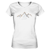 Spuren im Schnee - Ladies V-Neck Shirt