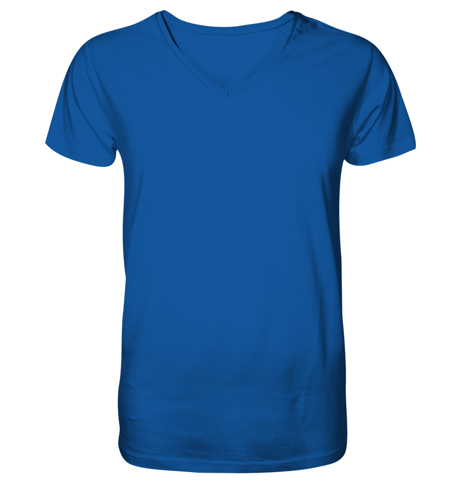 Yoga Lotus - Mens Organic V-Neck Shirt