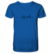 Eat. Sleep. Travel. Repeat. - Mens Organic V-Neck Shirt