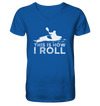 This is How I Roll - Mens Organic V-Neck Shirt