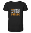 But Ride - Mens Organic V-Neck Shirt