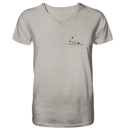Kanupolo - Mens Organic V-Neck Shirt