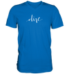 Dive - Mens V-Neck Shirt