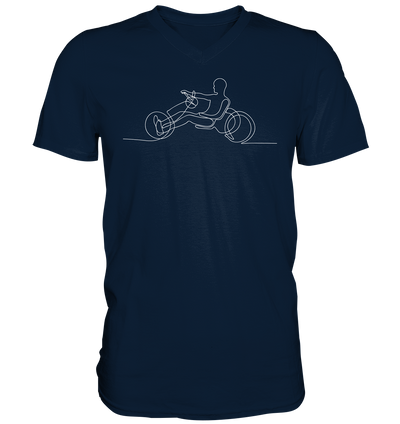 Handbike - Mens V-Neck Shirt