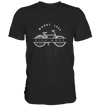 Worry Less - Bike More - Mens V-Neck Shirt