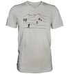 Discgolf - Mens V-Neck Shirt