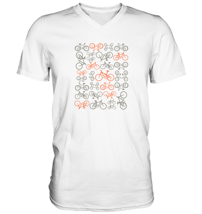 Mountainbikes - Mens V-Neck Shirt