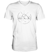 Circle Of Freedom - Mens V-Neck Shirt