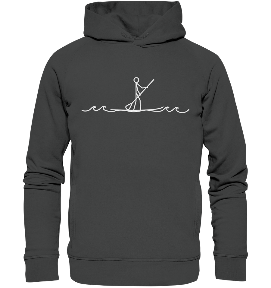 Stand Up Paddle - Organic Fashion Hoodie - Sale