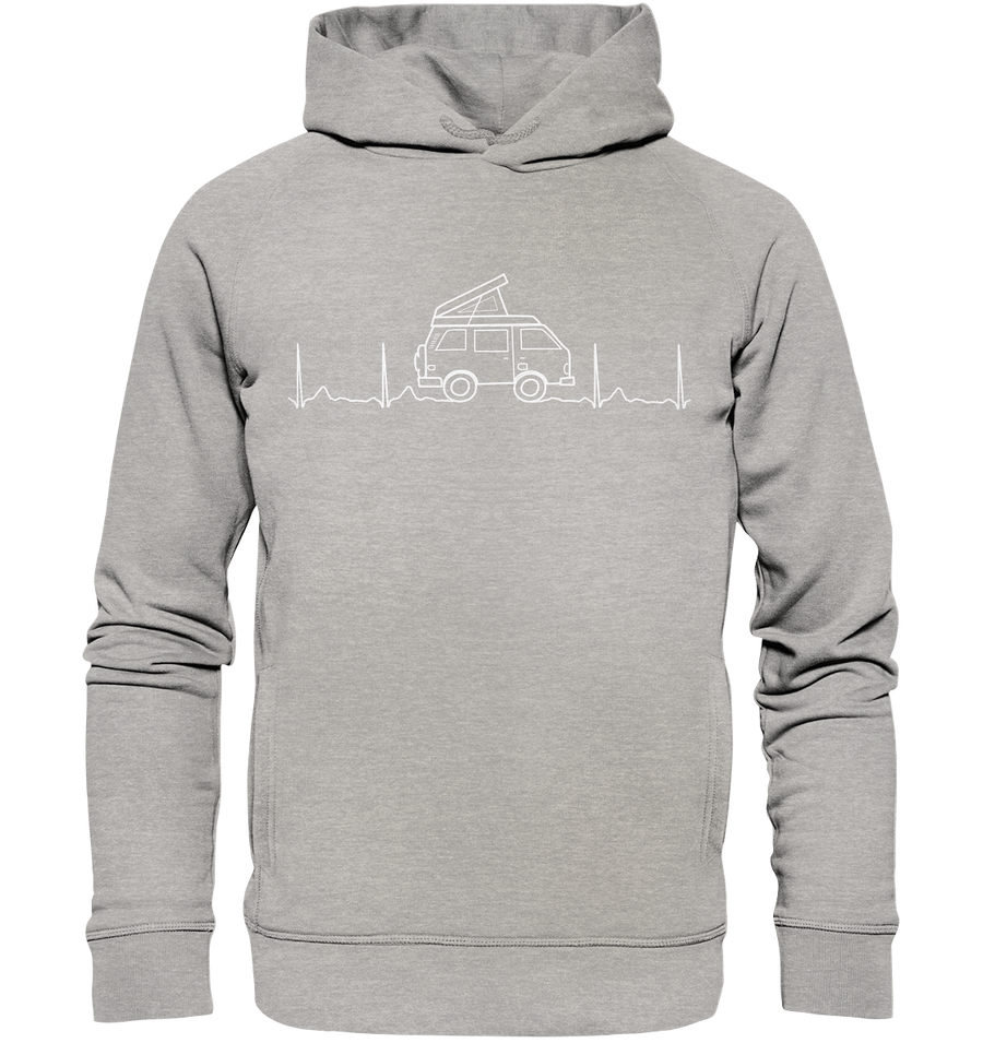 Herzschlag Vanlife Docproofed - Organic Fashion Hoodie - Sale
