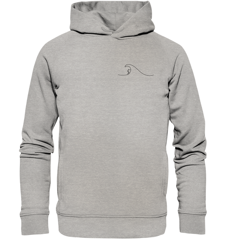 Surfer - Organic Fashion Hoodie - Sale
