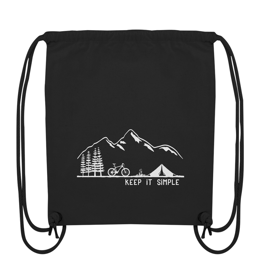 Keep it Simple - Mountainbike - Organic Gym Bag