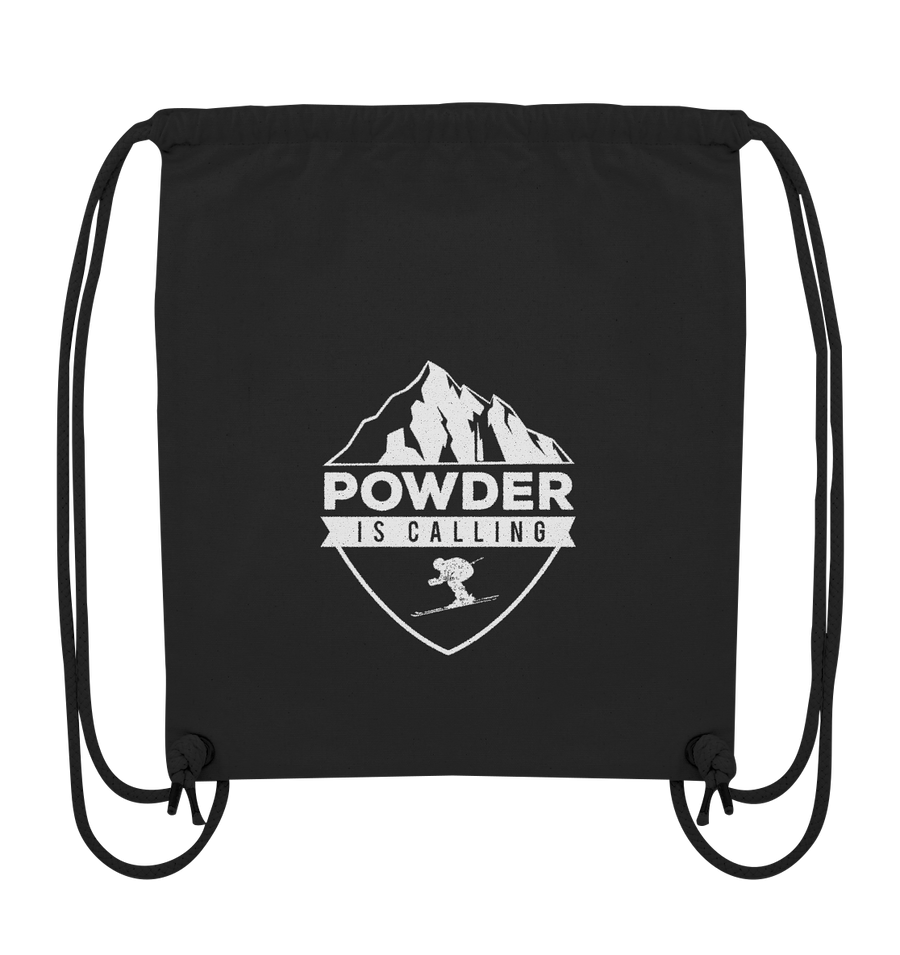 Powder is Calling - Organic Gym Bag