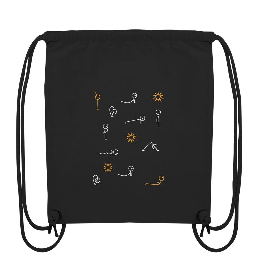 Sonnengruß - Organic Gym Bag