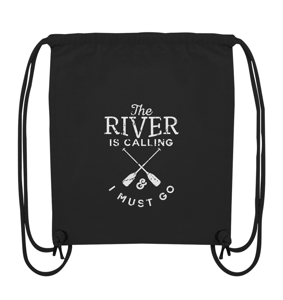 The River is Calling - Organic Gym Bag