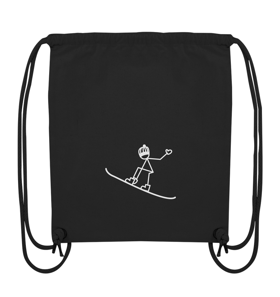Snowboarden - Organic Gym Bag