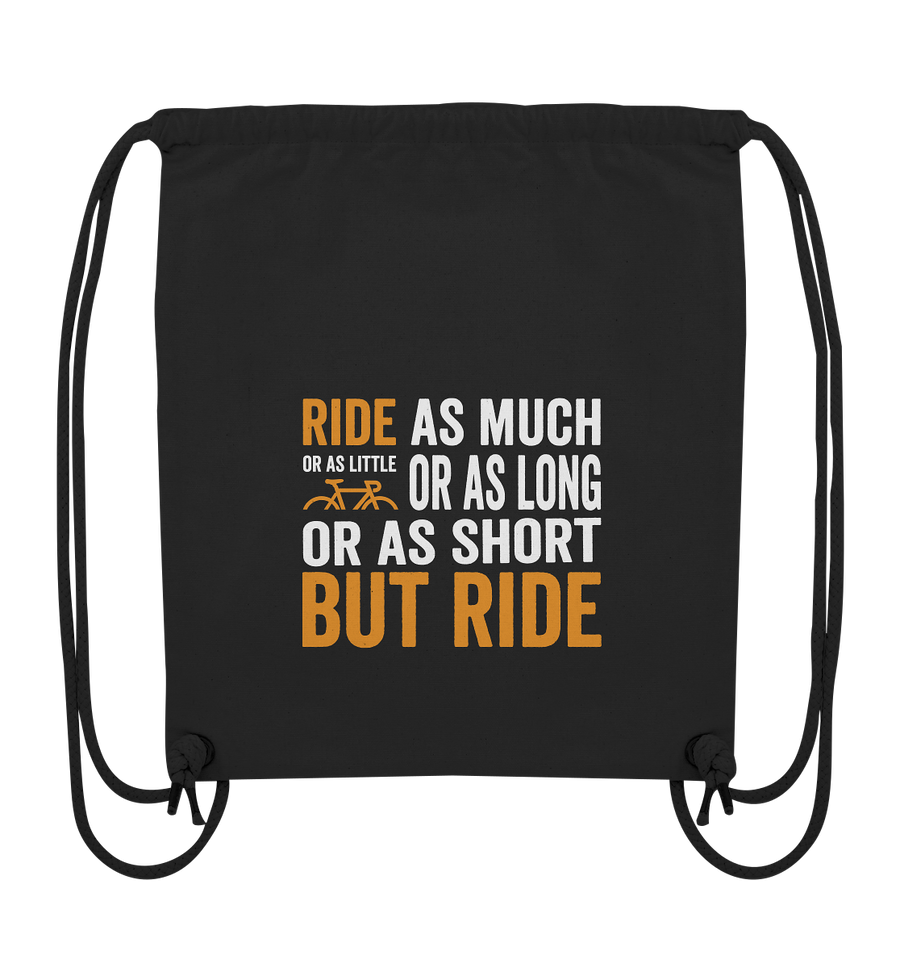 But Ride - Organic Gym Bag