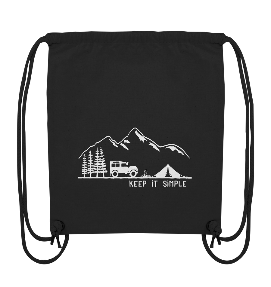 Keep it Simple - Organic Gym Bag