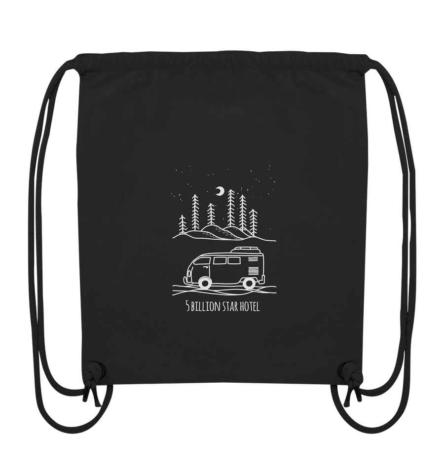 5 Billion Star Hotel - Organic Gym Bag
