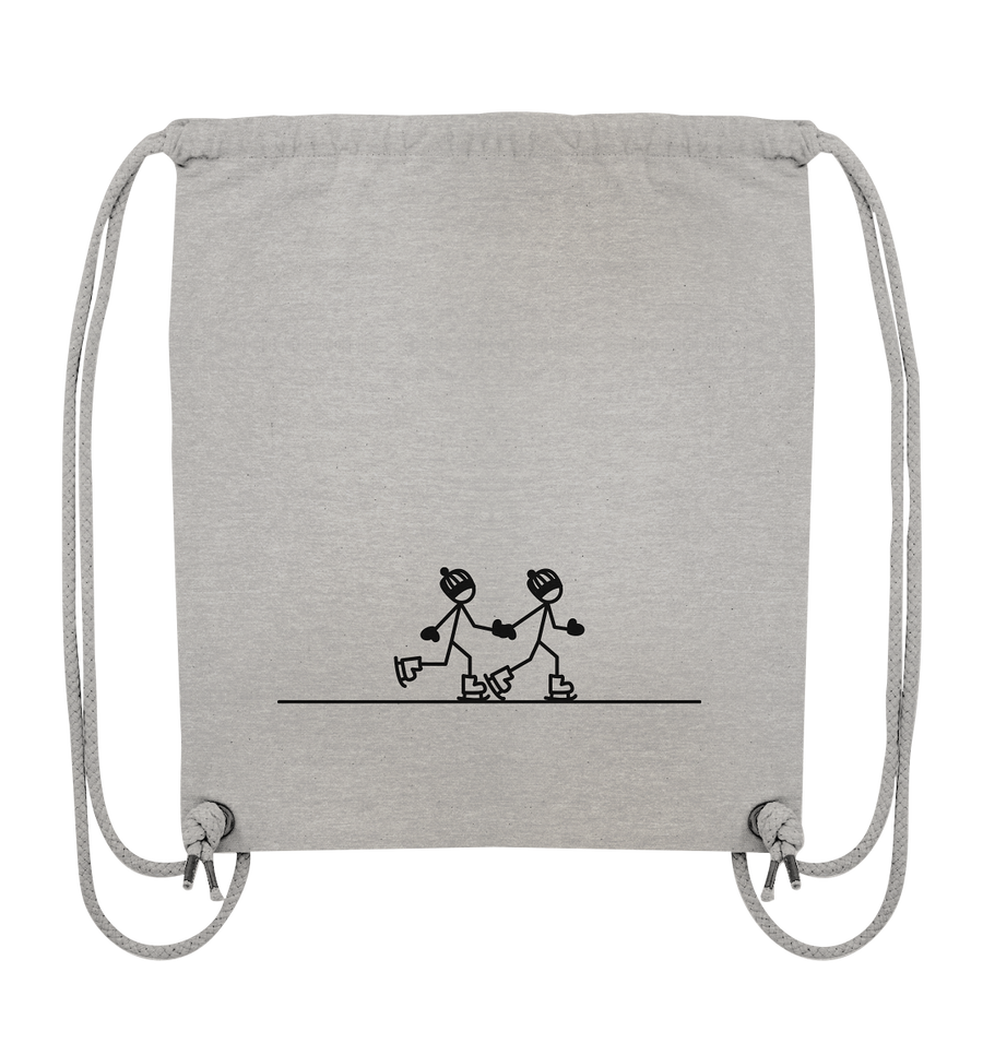Together Forever - Eislaufen - Organic Gym Bag