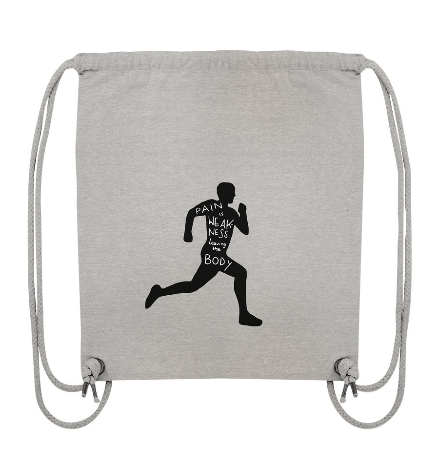 Runner Man Pain - Organic Gym Bag