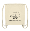 Do What Makes You Happy - Surfen - Organic Gym Bag