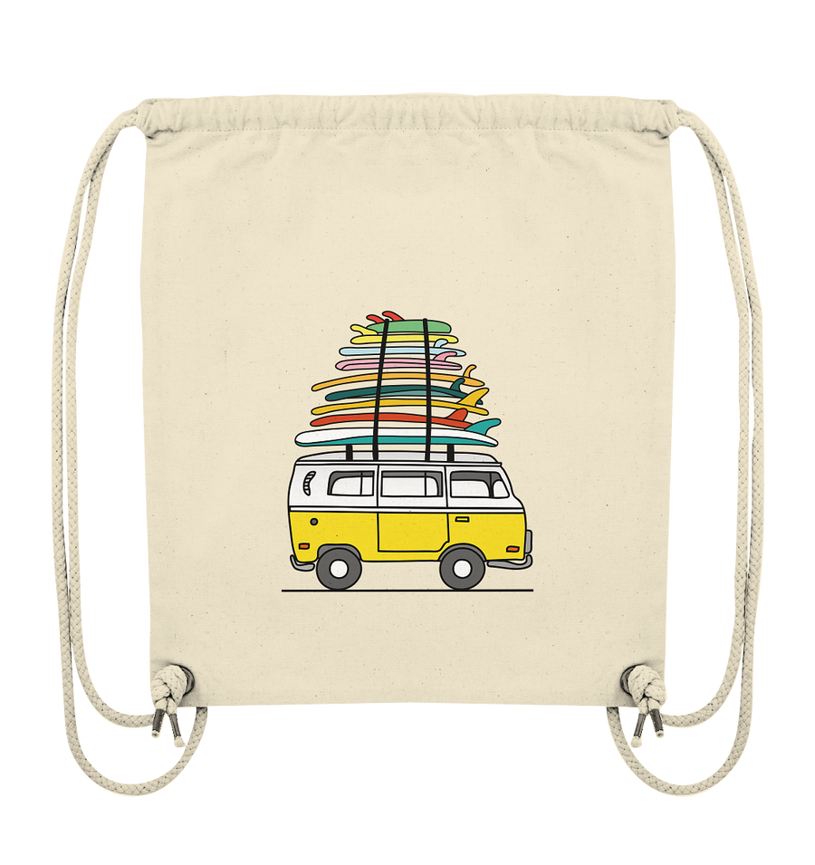 Vanlife & Surf - Organic Gym Bag