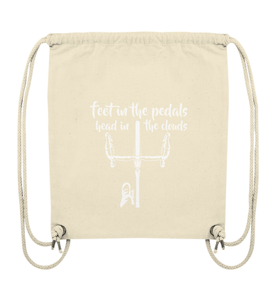 Feet in the Pedals - Organic Gym Bag
