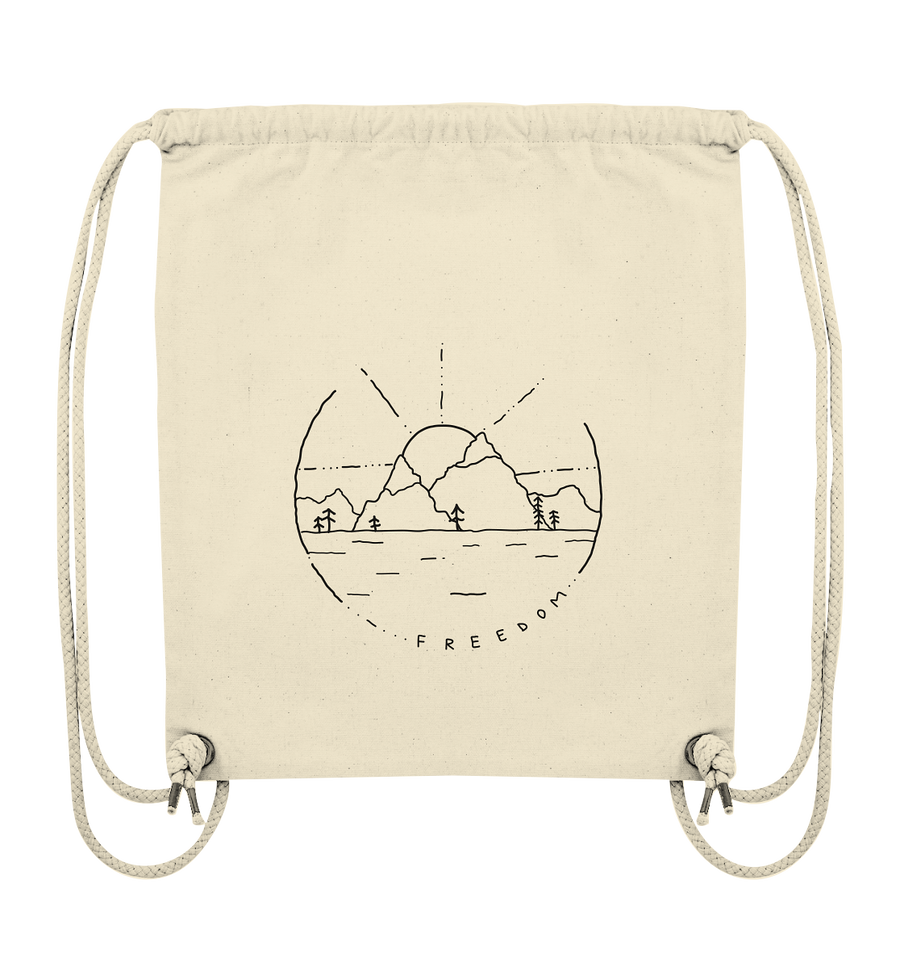 Circle Of Freedom - Organic Gym Bag