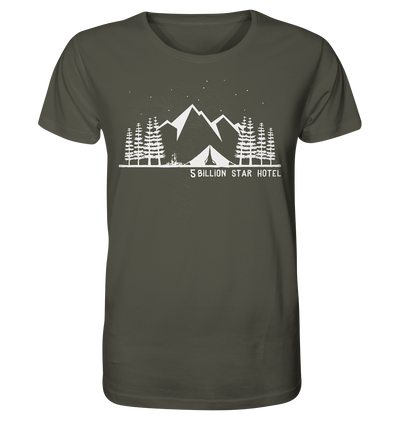 5 Billion Star Hotel - Organic Shirt