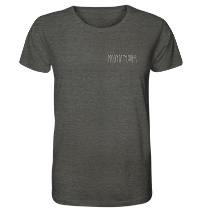 Mountainlover - Organic Shirt Meliert