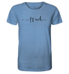 Eat. Sleep. Travel. Repeat. - Organic Shirt Meliert