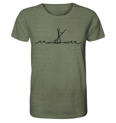 Stand Up Paddle - Organic Shirt Meliert
