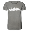 Mountainbike - Organic Shirt Meliert