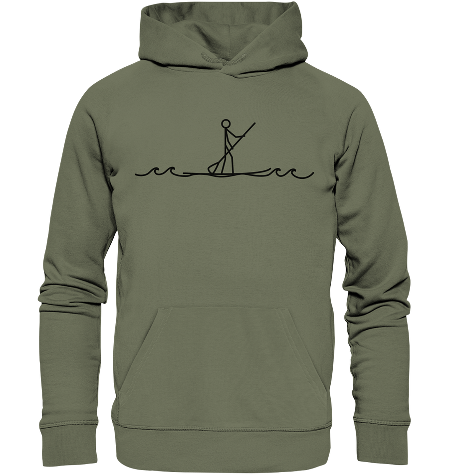 Stand Up Paddle - Premium Unisex Hoodie - Sale
