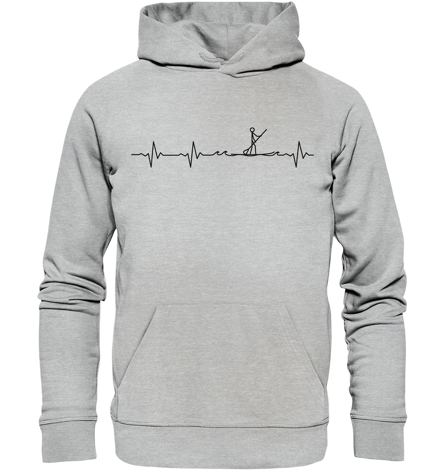 Herzschlag Stand Up Paddle - Premium Unisex Hoodie - Sale