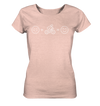Just Smile - Ladies Organic Shirt Meliert