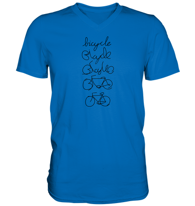 Bicycle - Mens V-Neck Shirt