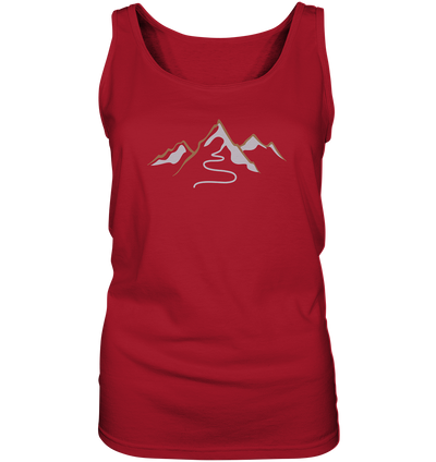 Spuren im Schnee - Ladies Tank Top
